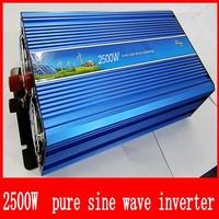 2500VA PURE SINE WAVE INVERTER (12V to 120VAC 5000W 5KW PEAKING) Door to Door Free Shipping