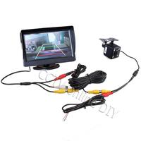 """4.3"""" Screen TFT LCD Car Rear View Rearview Monitor + Backup Camera Kits"""