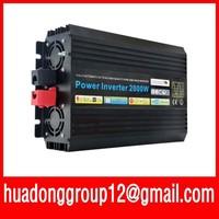 HOT SALE!! 2000W Off Inverter Pure Sine Wave Inverter DC12V to 120V input, Wind Solar Power Inverter