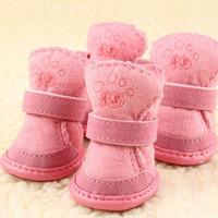 Dog shoes berber fleece snow boots pet shoes dog shoes dog boots rain boots teddy vip fashion