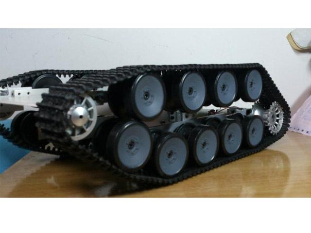 Tank Caterpillar Chassis Tractor Crawler Barrowland Intellig