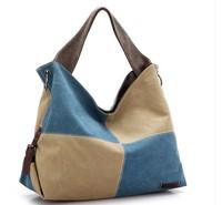 2014 k2 women's shoulder bag handbag canvas bag big bag handbag messenger bag 3