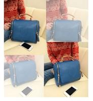 New Arrival Women's Handbag Bag /Small Bucket bag/ Girls Scrub Spring 2014 Women Bags Brand Design High Quality PU Leather Bag