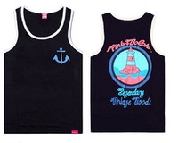 New 2014 mens hip hop Diamond Vest, new style Diamond supply shirt  men's Vest + free shipping