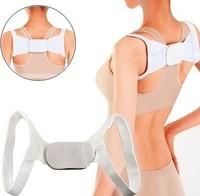 Adjustable Therapy Back Support Braces Belt Band Posture Shoulder Corrector for Women 2014 Fashion Health tourmaline belt A093
