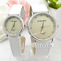 Rhinestone brief lovers watch dial digital quartz watch fashion ultra-thin male watches ladies watch