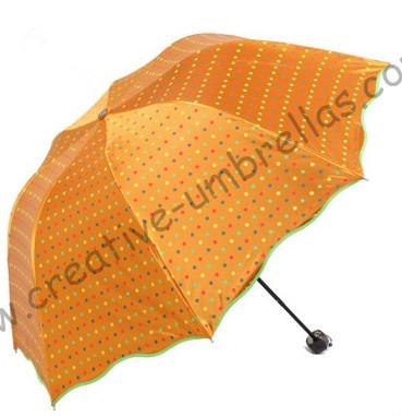 2 times black coating,100%sunscreen,UPF>50+,parasol,8k ribs,three fold,hand open umbrellas,windproof,black,pocket parasol(China (Mainland))