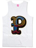 Diamond supply co 2014 summer Vest hip hop leopard print fashion skateboard pink dolphin clothing Vest XXXL