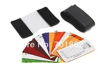 100pcs Flash Diffuser 12 sets color card for Strobes