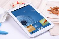 Hot!! 8 inch Samsung GALAXY Tab3  dual core,dual 3G sim card slot,wifi +3G,1G+8G Rom,dual cameras,with GPS\BT\ FM,Many languages