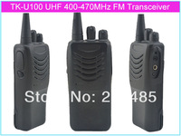 TK-U100 UHF 400-470MHz 16 RF Channels 4Watt Thin&lightweight  Portable Two way Radio/Transceiver