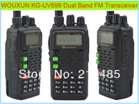 Wouxun KG-UV899 Dual Band VHF: 136-174MHz & UHF:400-520MHz FM Portable Two-way Radio