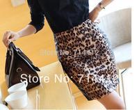 Short Saias Femininas Skirts Womens 2014 Spring And Summer High-quality Semi-leopard Fight Purses Hip Skirt Skirts G416-1109