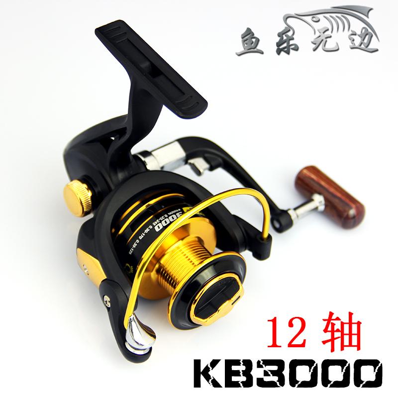 German technology for shimano feeder fishing 12 bears metal front drag spinning fishing reel 5000 series freeshipping(China (Mainland))