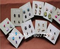 Fashion Mixed Styles Stud Earrings
