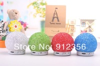 Christmas gift Snowball Bluetooth Speaker Wireless Mini support TF card Portable speaker For iPhone 5 5C 5S Samsung ipad 100pcs