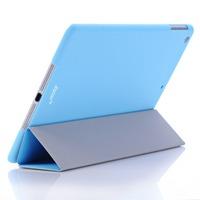 Joycon ultra thin PC plastic case + original design smart cover wake up &sleep fuction for iPad air