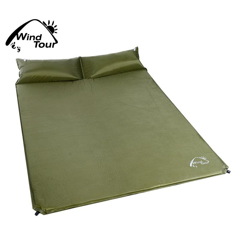Wind Tour Sleeping Mat Mattress Self Inflating Pad