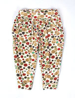 Free Shipping Hot selling Baby girl all-match leggings cute fashion summer Cropped Trousers Microfiber children pants