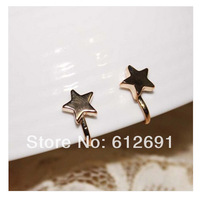 Fashion star ear cuffs charms no pierced ear clip earrings ear cuff adjustable earrings 2014 NEW  LM-C276 women girl love