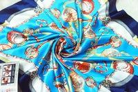 FREE SHIPPING Silk Square Scarf Women Fashion Brand High Quality Cheap Imitated Silk Satin Scarves Polyester Shawl Hijab