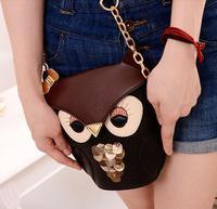2014 bag female owl women's handbag small animal chain bag messenger bag fashion bag