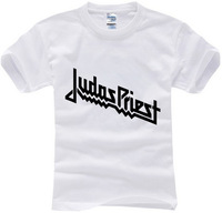 summer 2015 new brand famous music band judas priest cechovci casual print 100% cotton t-shirt t shirt top tee man short sleeve