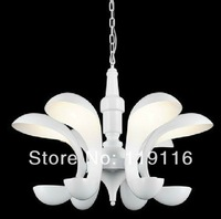 Modern minimalist fashion design cute bunny ears LED chandelier bedroom / dining / den / living room lamp