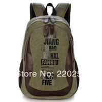 Canvas laptop bag Vintage backpack for school,Canvas Backpack girl Rucksack brand designer men women canvas travel bag