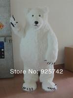 Mascots 2014 Russian Sochi Mascot Toys Polar Bear Doll  Baby Toy Birthday Gift  cartoon costume  performance wear mascot