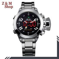 2014 weide watch men sport watch military watches men full steel watch waterproof relojes hombre deportivo digital relogios led