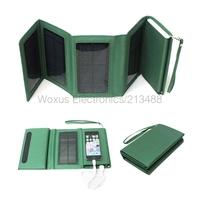 High Capacity 8000mah Portable Solar Charger Emergency Backup Battery For iPhone Samsung PSP Folding Solar Panel