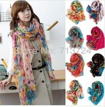wholesale floral scarf
