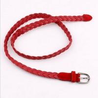 Women's all-match knitted thin belt