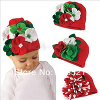 Cute Kids Toddler Infant Girl Baby Hat Cap Beanie Headwear cotton Flower