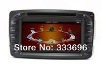 Car DVD Player RDS GPS Navigation for Mercedes Benz c class Vaneo Viano Vito CLK C208 C209 W208 W209 C E Class W203 W210