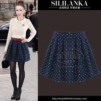 2014 spring fashion women's fashion high waist short skirt all-match puff skirt bust skirt