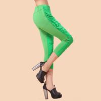 Pure plus size clothing mm spring pants capris legging