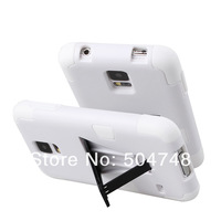 For Samsung Galaxy S5 Hybrid Kickstand Case with Silicone Cell Phone Cases DHL EMS Free Shipping