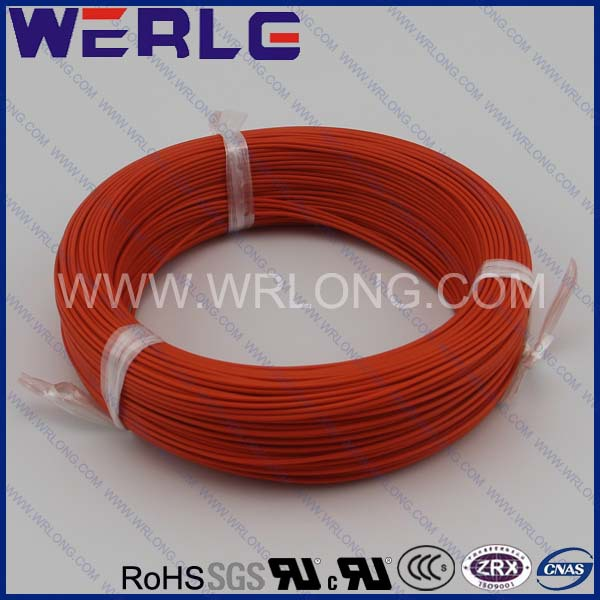 WERLE 26 AWG UL 1330 600V 200 degree FEP teflon insulated copper multi stranded wire(China (Mainland))