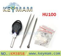 Free shipping 2014 New type The car key restructuring tool HU100,Buick Opel car key combination tool key re-assembling tool
