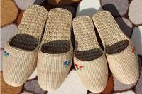 New Ecp-friendly Fashion 2014 Summer New Natural Straw Slippers Male/Women Grass Woven Flip Flops Handmade Tatbeb Plus Size Sew