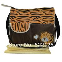Carter's giraffe orange color nappy bag print fashion shoulder portable diaper bag for fashion mummy bag