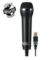 6in1 Karaoke Microphone USB wired for Wii U Wii XBOX360 PS4 PS3 PC free shipping