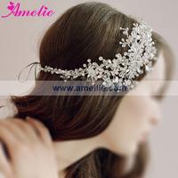 New Arrival  Floral Rhinestone Bridal Princess Crystal Headpieces Wedding Headpiece Free Shipping