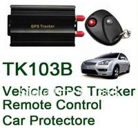 FREE COBAN TK103B Vehicle/Car GPS tracker+Remote Control GPS103 Car Alarm Quad-band SD card slot PC&website GPS tracking system