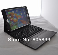 Bluetooth Wireless Removable Flip Magnetic Keyboard+ Leather Case For Apple Ipad Air 5 Free Shipping