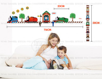 60x130cm (23.6x51.2in) Children's Day Boy's Room Nursery Wall Sticker Decal THOMAS THE TRAIN FRIENDS