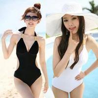 Hot springs swimwear Slim thin triangular piece swimsuit female Siamese foreign trade piece swimsuit