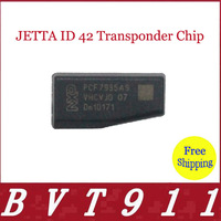 2014 Hot Selling 100% Original Car Key Chip JETTA ID 42 Transponder Chip 10pcs/lot Free Shipping JETTA ID 42 Transponder Chip